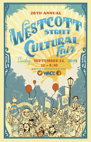 Save the Date! The 2019 Westcott Street Cultural Fair will be September 22, 2019