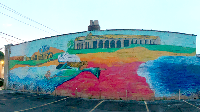 A New Mural, Middle Eastern Dreams